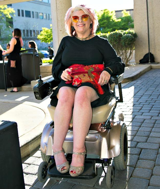 fashion over 40 Alicia at Spashionista