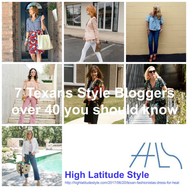 7 Texan fashion bloggers over 40