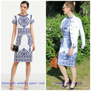 Budget friendly afternoon wedding guest looks for midlife women