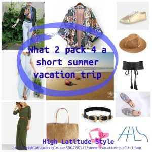 Read more about the article Short summer vacation outfit ideas