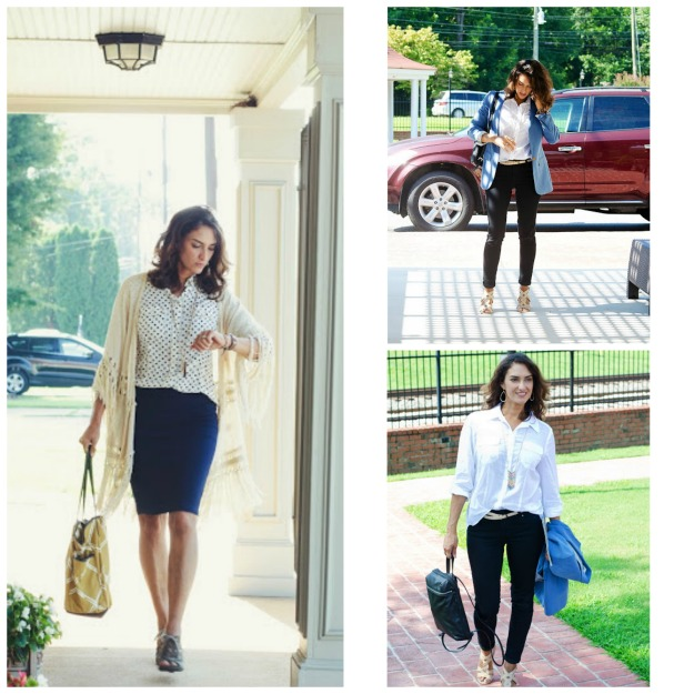#styleover40 Chrissy in summer to fall transition looks