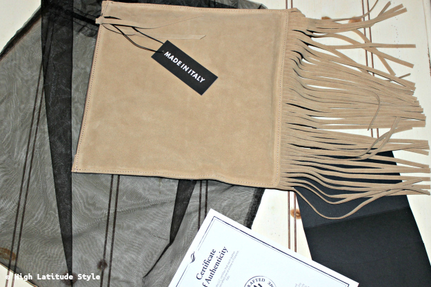 #UnoAllaVolta beautiful suede fringe bag