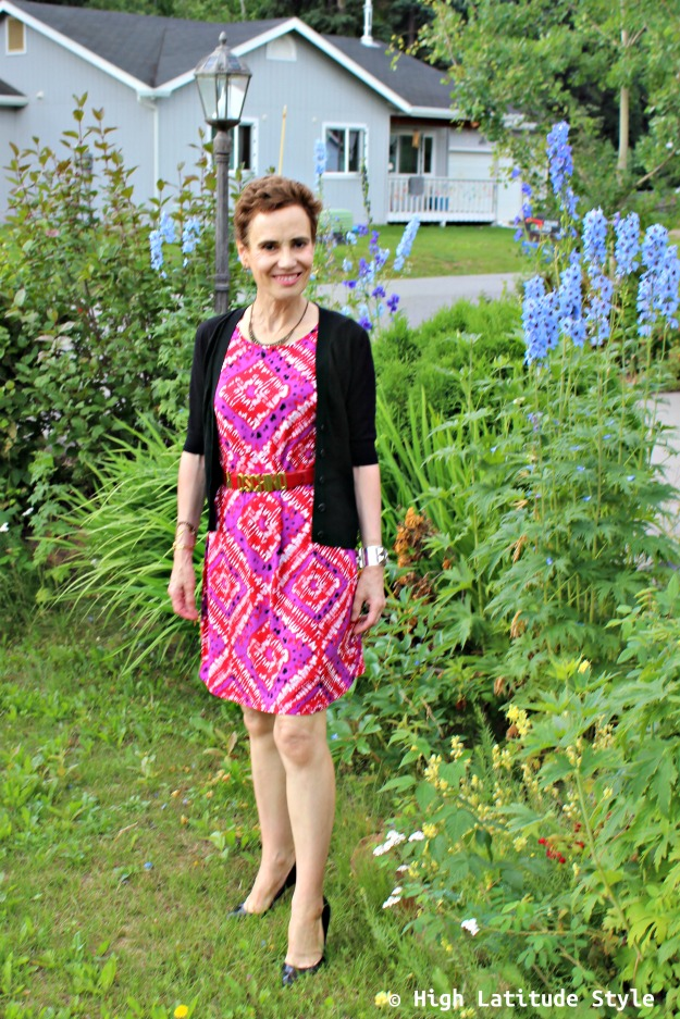 #maturestyle Alaskan woman in pre-fall work outfit