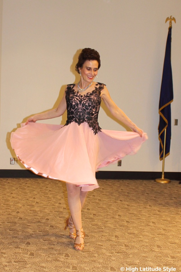 #weddingstyle woman in formal wear showing the skirt's flow