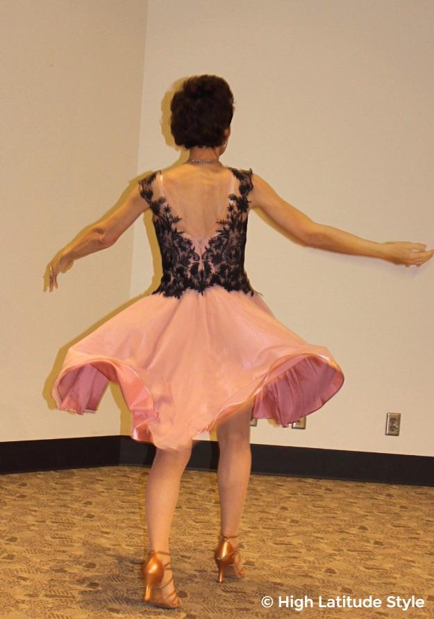 #advancedstyle mature woman twirling