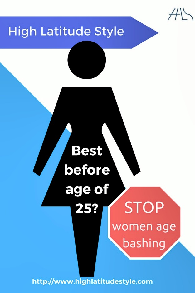 #ageism Women have no expiration date