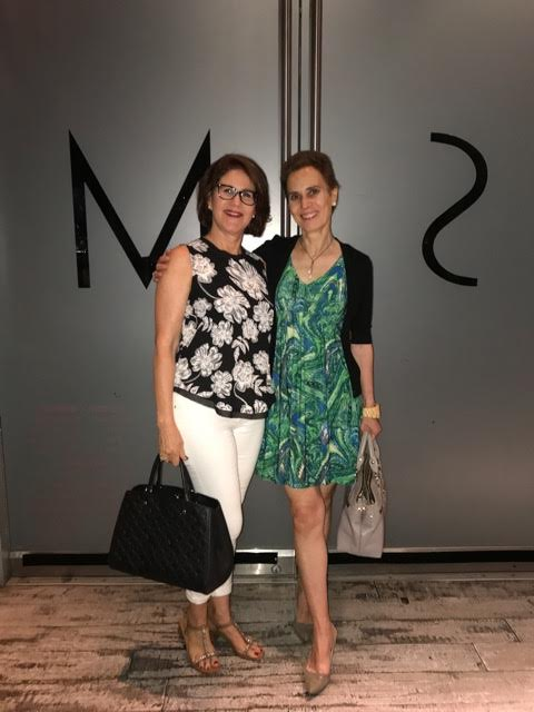 #midlife bloggers Britta of By the Way of Berlin and Nicole of High Latitude Style