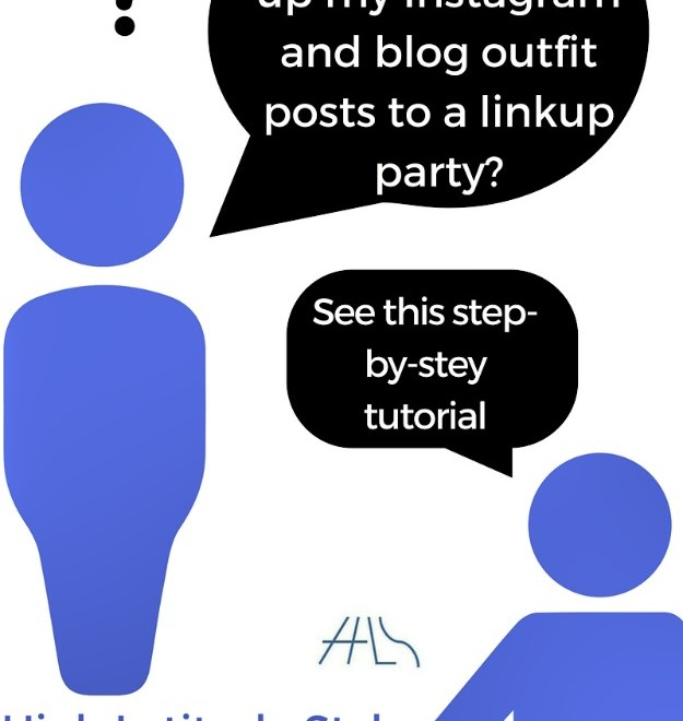 How to link up a blog or instagram posts at a linkup party