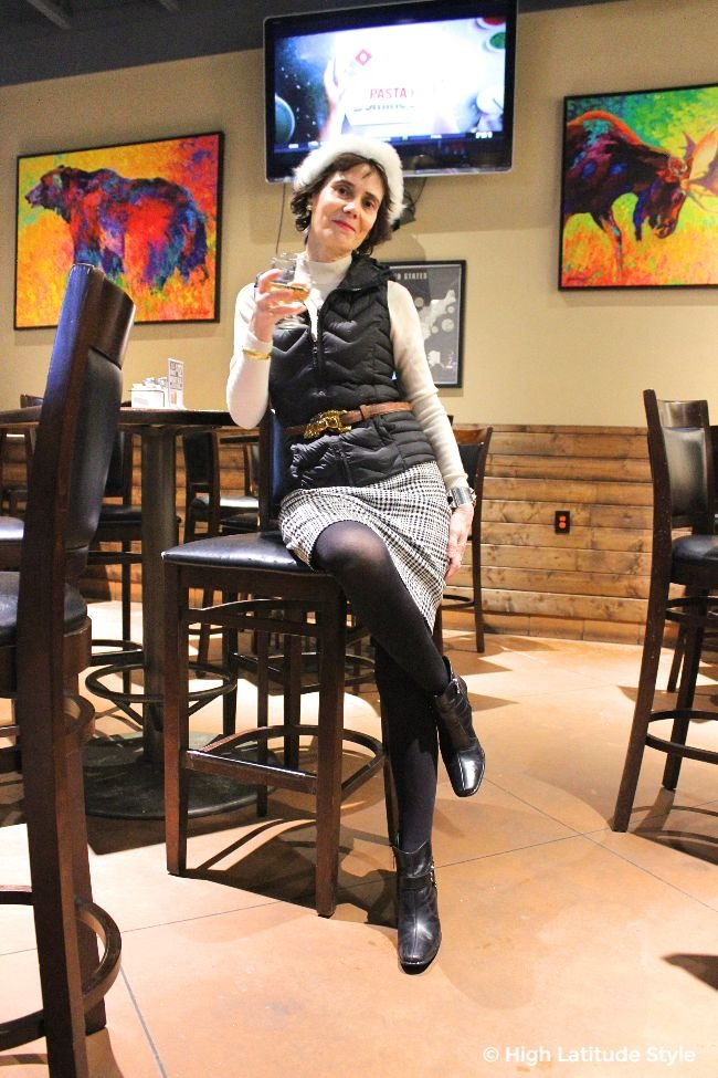 #styleover50 #advanced style woman looking chic and effortlessly stylish