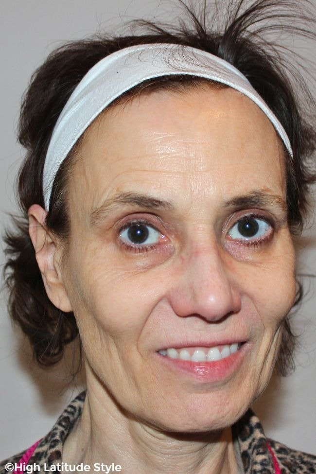 #beautyover50 face without makeup