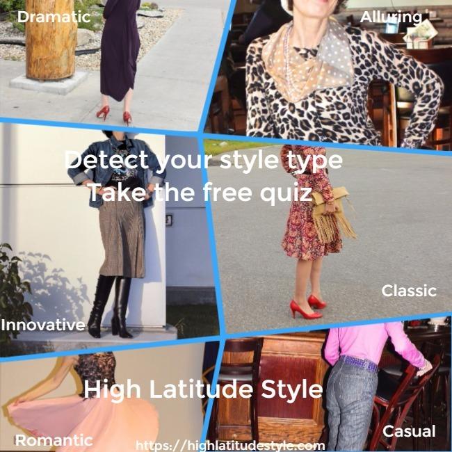 #fashionover50 personal style quiz