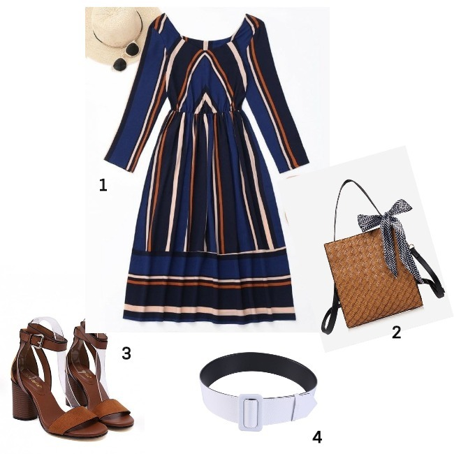 #fashionover50 work outfit created from Zaful pieces