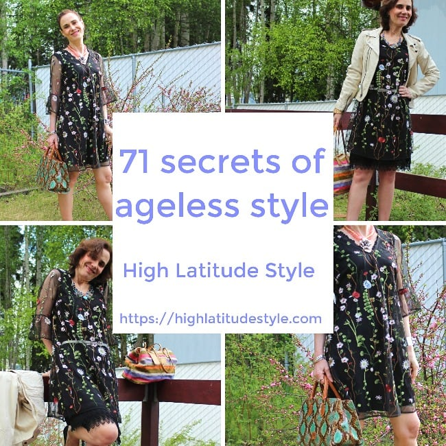 #agelessstyle 71 secrets of ageless style post banner