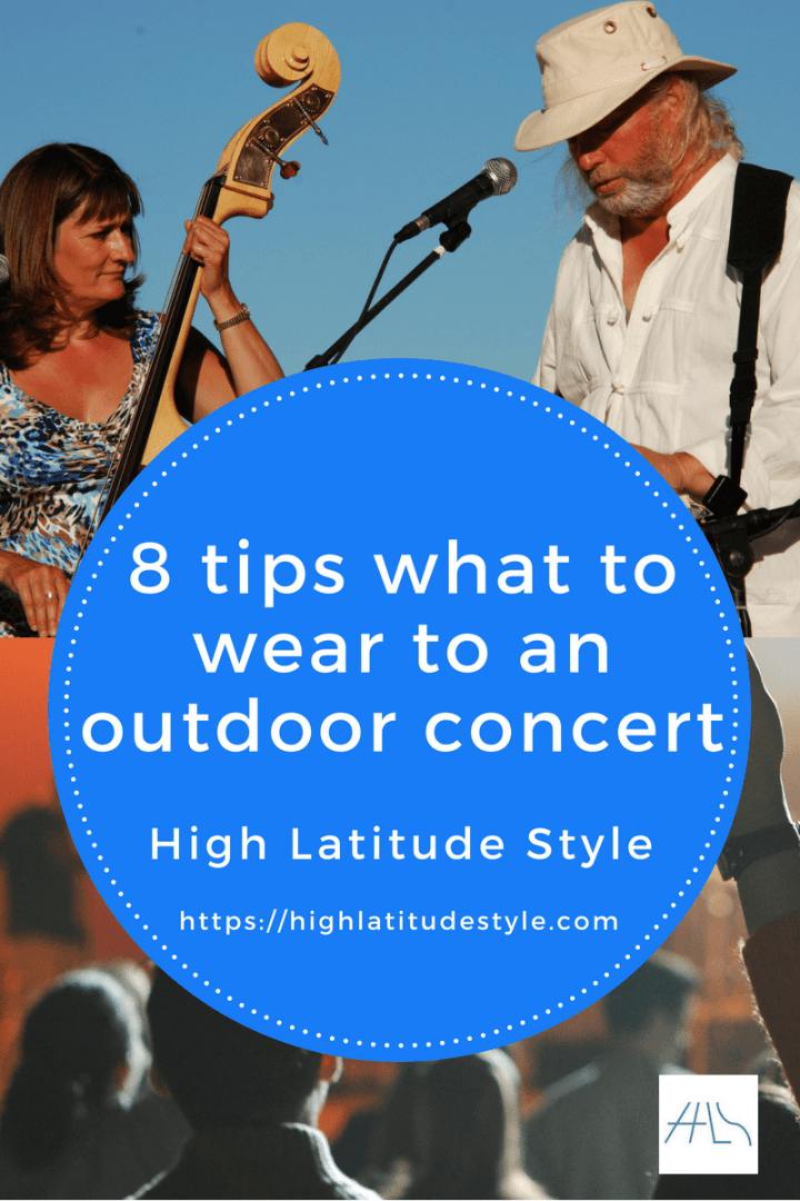 8 tips to look awesome at an outdoor concert