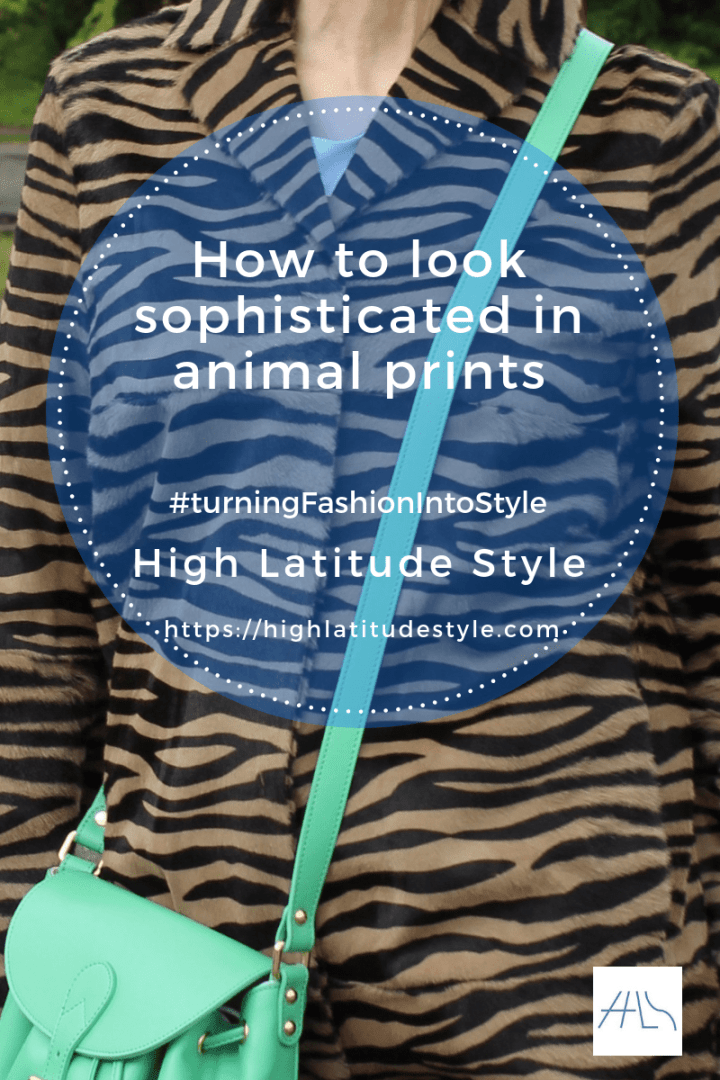 15 tips to look sophisticated in animal prints