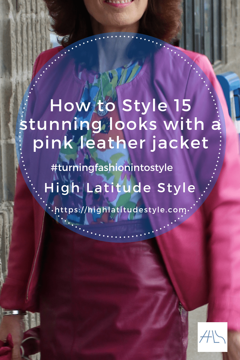 How to Style 17 stunning looks with a pink leather jacket post banner