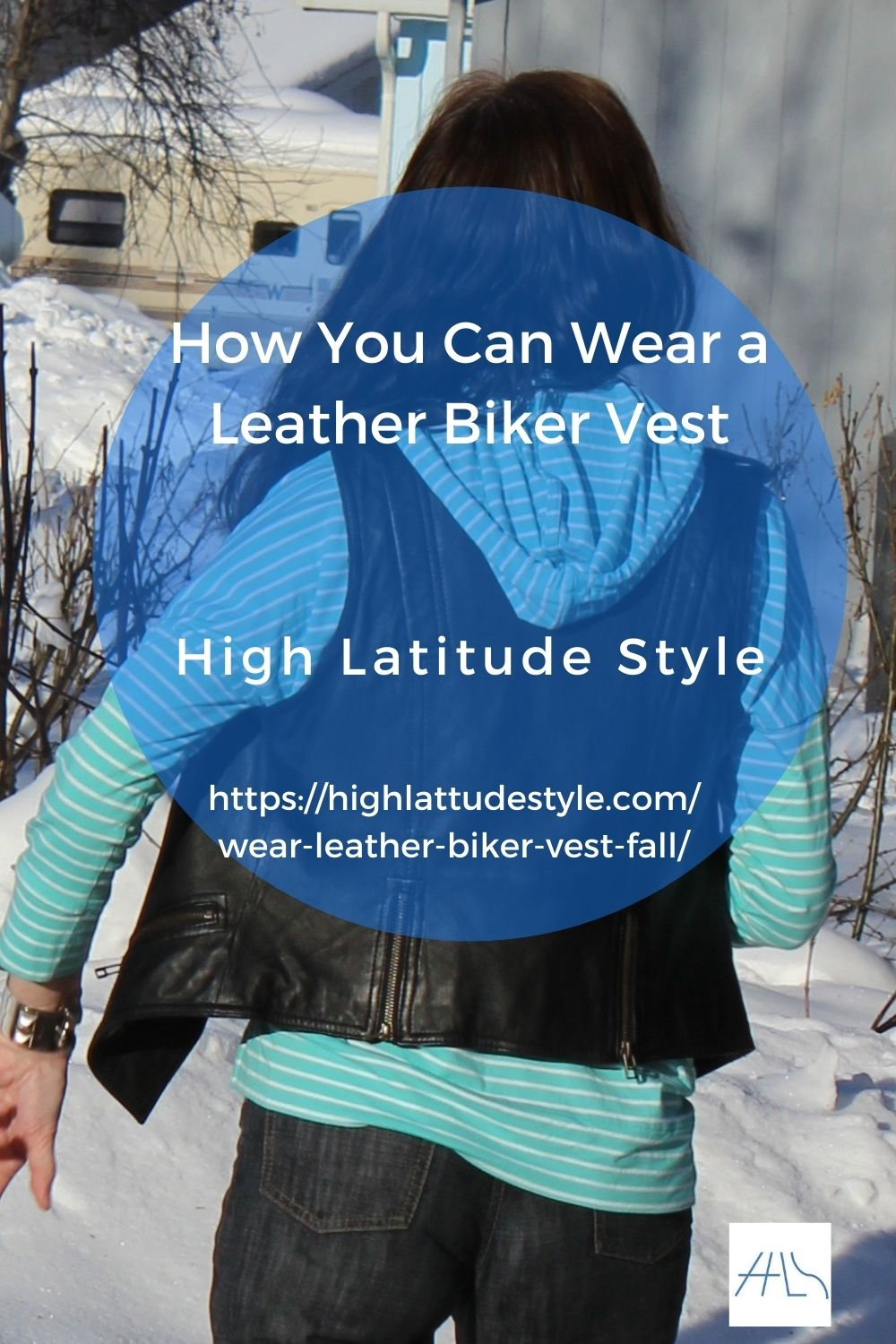 How You Can Wear a Leather Biker Vest