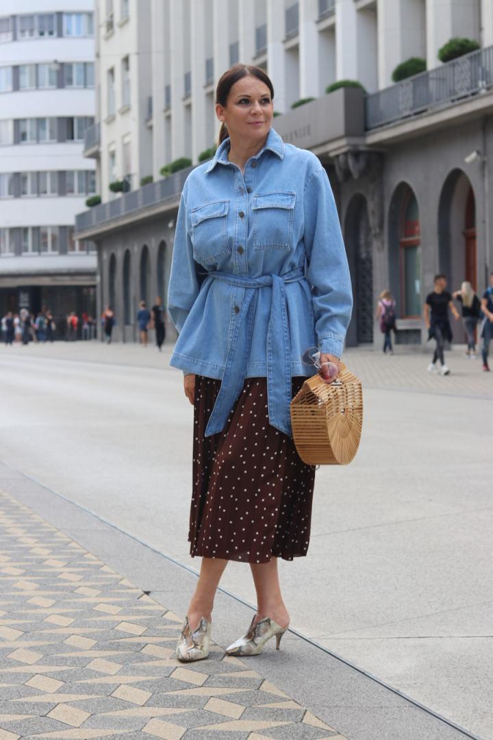 Eastern European fashion blogger Pika of The 50th Avenue