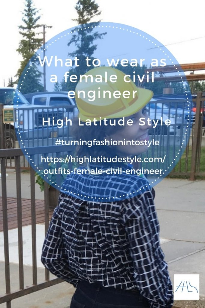 What to wear as a female civil engineer post banner