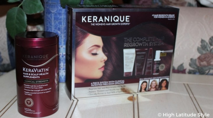 #beautyover40 Keranique complete package plus supplement