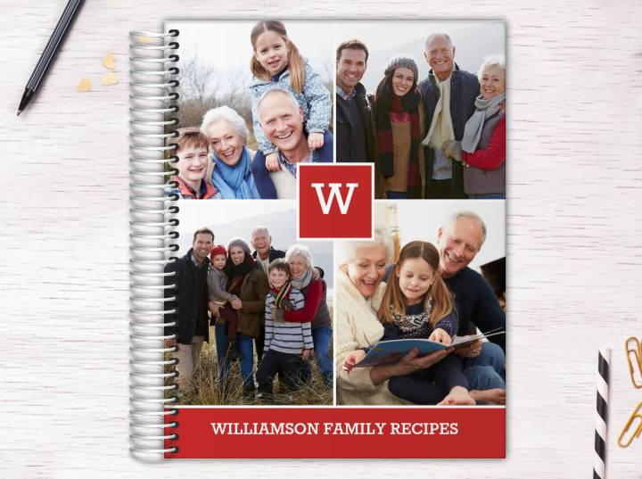 #food conserve the family recipes with a recipe book made to order