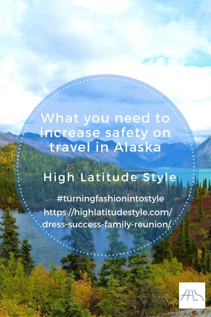 #Alaskatravel #traveltips What you need to pack to increase your safety when traveling Alaska
