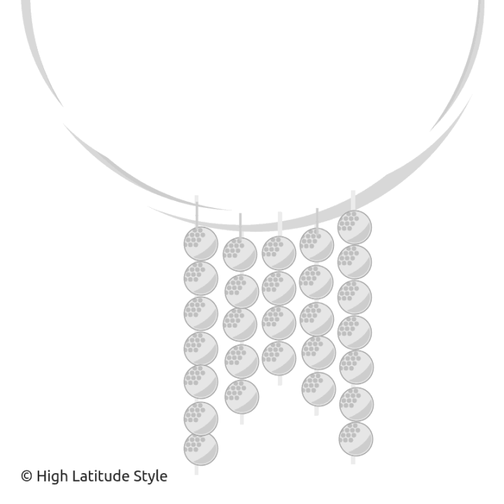 design of my first self-made necklace