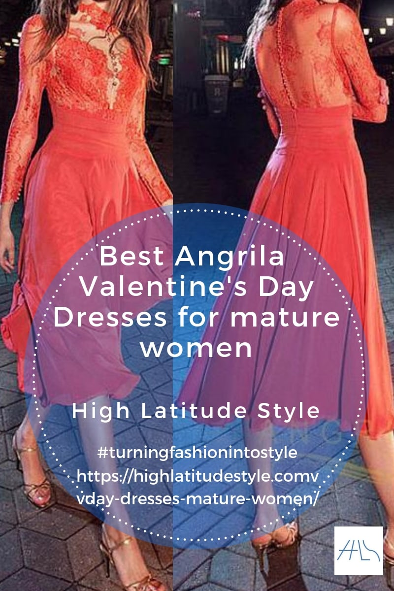 Best Angrila Valentine's Day dresses for mature women
