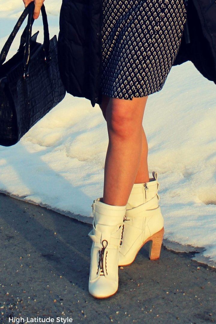 white Fendi shoe beauties