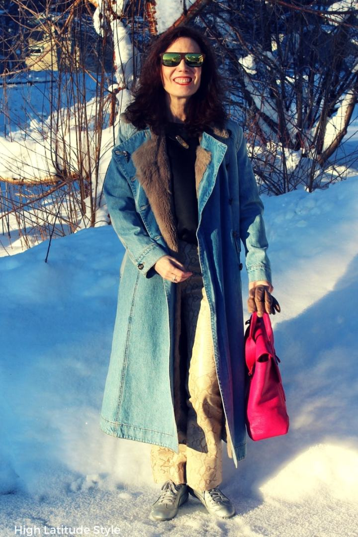 #linkup hostess Nicole of the Top of the World Style Linkup party on High Latitude Style