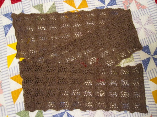 Qiviut Lace Scarf by andreakw CC BY-NC-ND 2.0