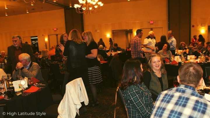 Meet-and-greet at the 20th Fairbanks Potato Festival