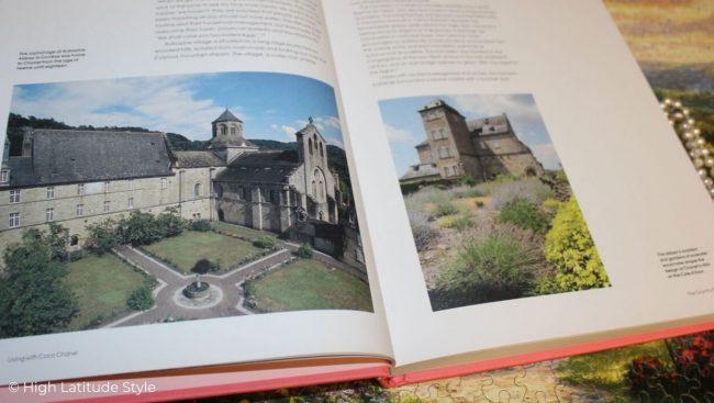 Photos of the Auvergne where the French designer lived