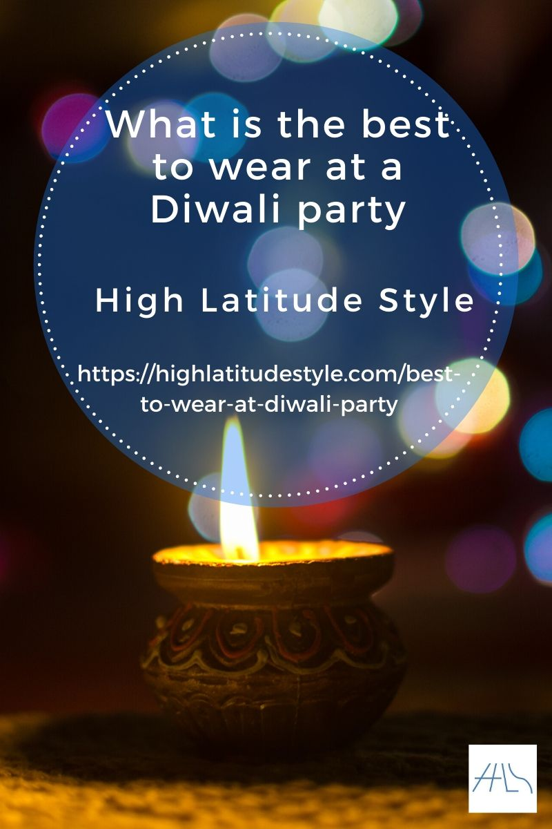 What is the best to wear at a Diwali party
