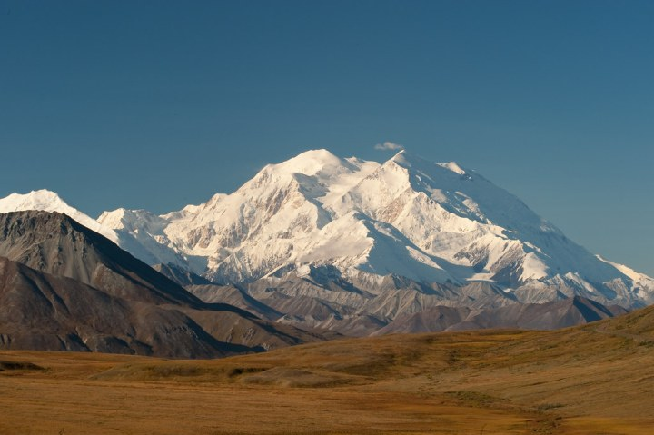 """Mt. McKinley ""Denali"" elevation 20,320 feet"" by Timothy Wildey is licensed under CC BY-NC 2.0"
