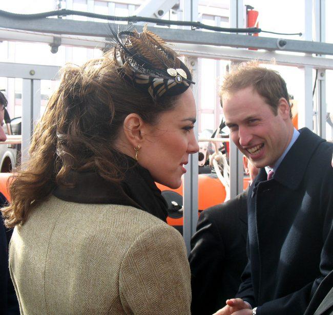 Kate Middleton donning a fascinator