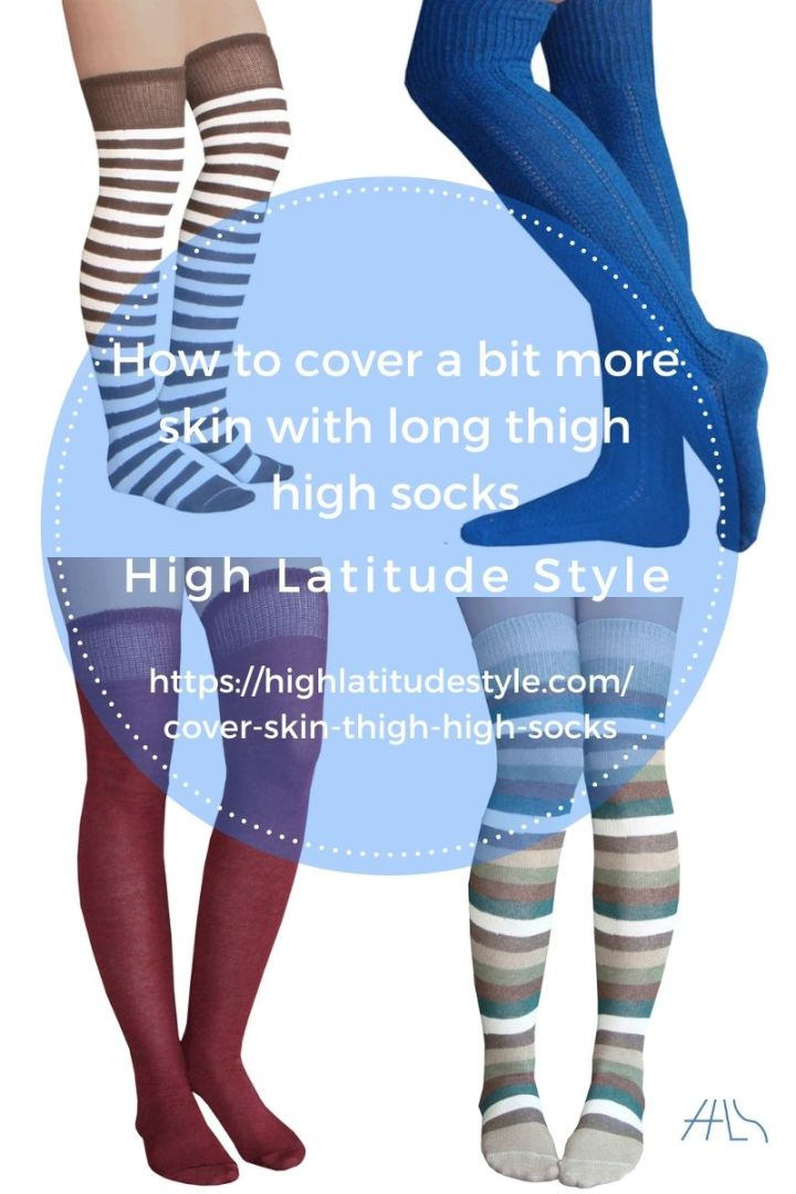 How to cover a bit more skin with long thigh high socks