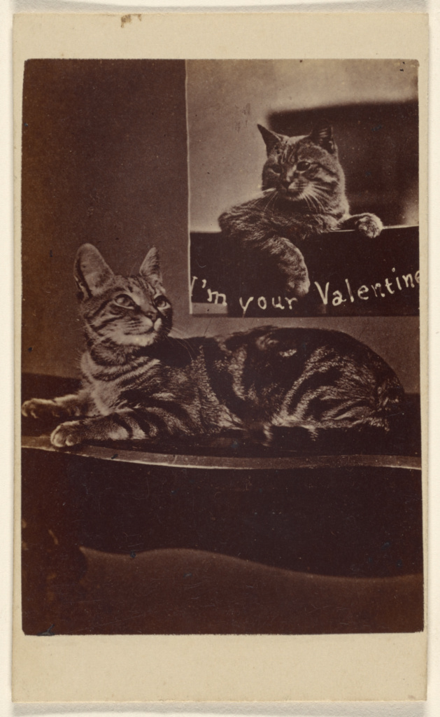 historic Valentine's Day card Downloaded from the Getty Museum open program