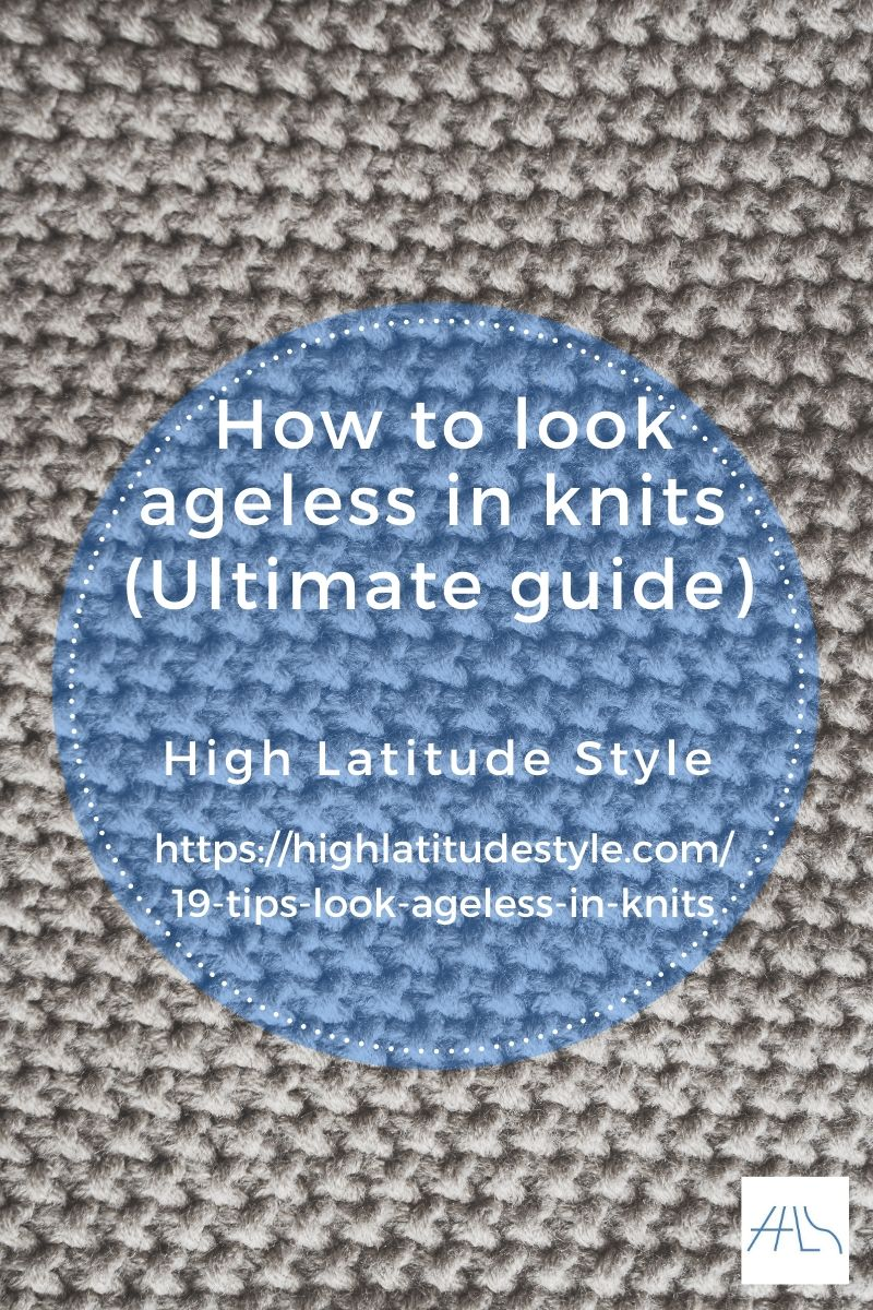 Post banner for Knits style guide