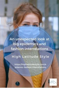 An unexpected look at big epidemics and fashion interrelations
