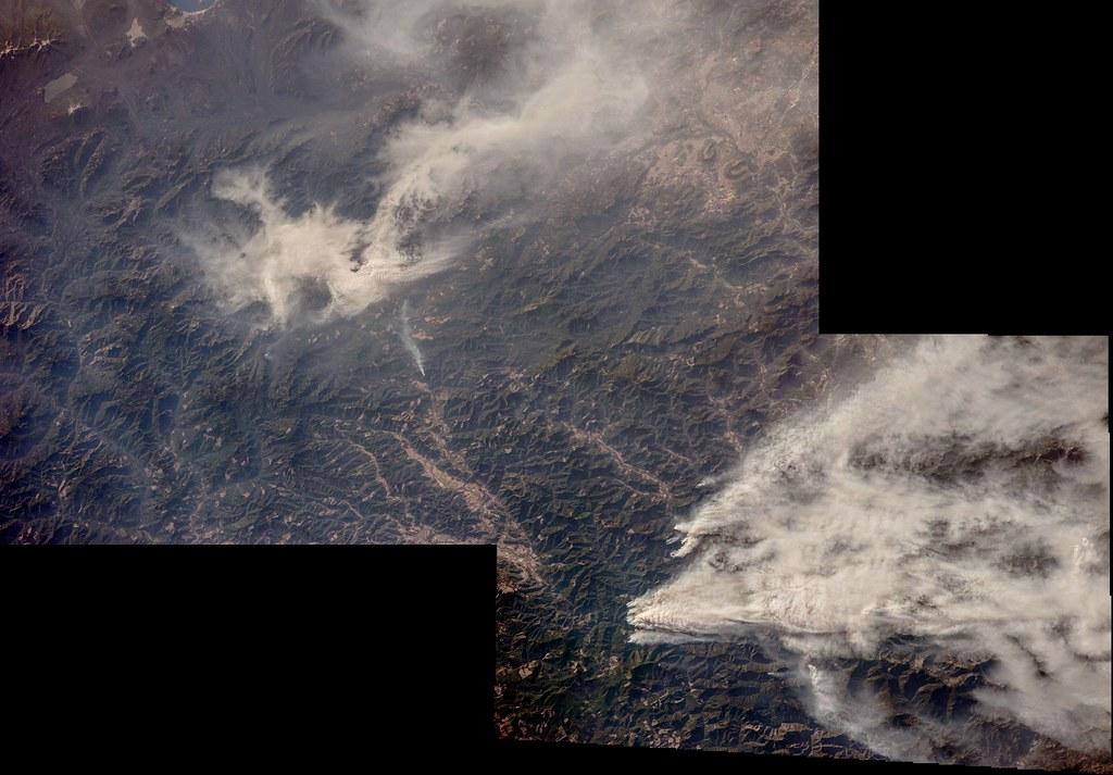Wildfires by sjrankin is licensed under CC BY-NC 2.0