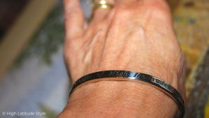 oNecklace personalized cuff review