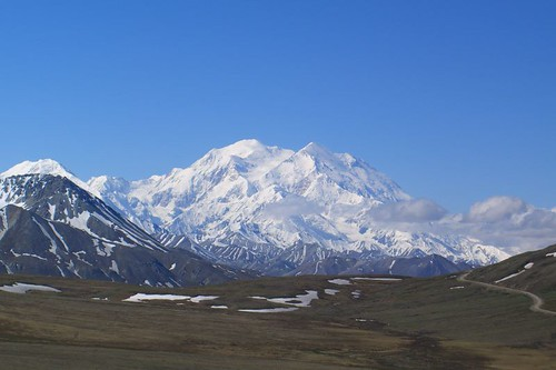 Mt. McKinley is the old Denali