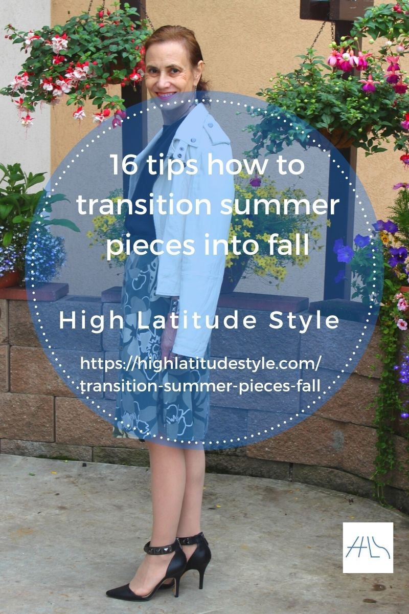 post banner of summer to fall transition outfit guide