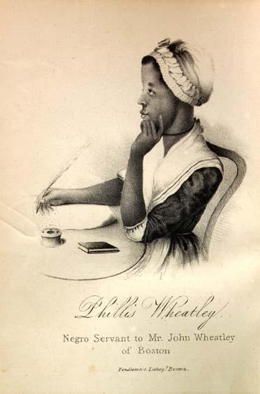 Phillis Wheathley portrait