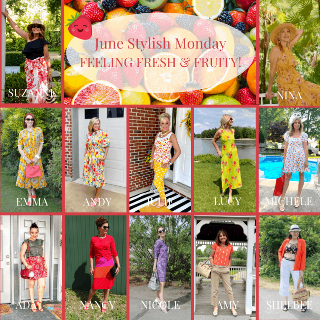 fashion bloggers over 50 in trendy summer dresses
