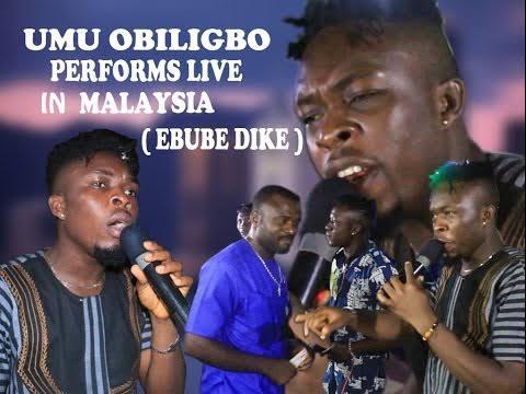 UMU OBILIGBO Performs Live in Malaysia - Ebube Dike