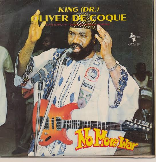 Chief Dr. Oliver De Coque - No More War 1995 (Free Downloads)