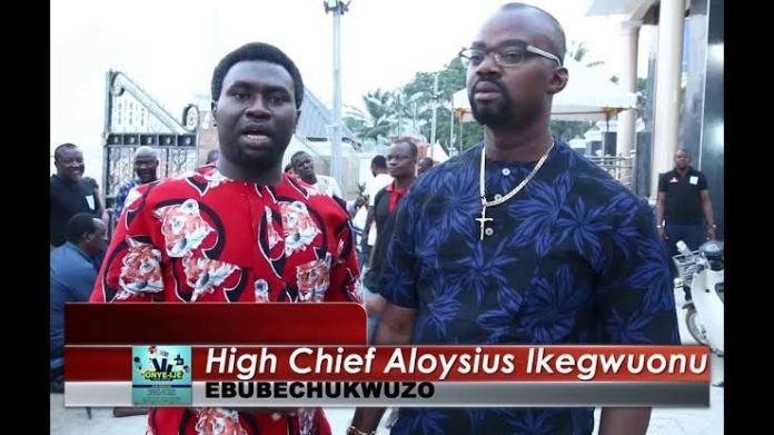 Bishop Ozubulu Celebrates His (2019) birthday in Ozubulu (Watch Video)