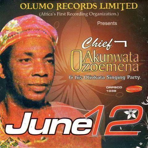 Chief Akunwata Ozoemena Nsugbe - June 12